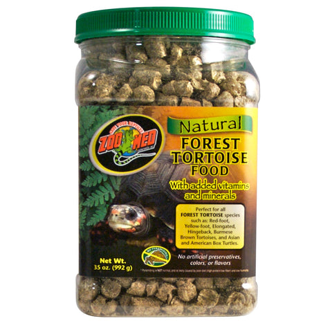 Zoo Med Natural Forest Tortoise Food (35-Oz.)