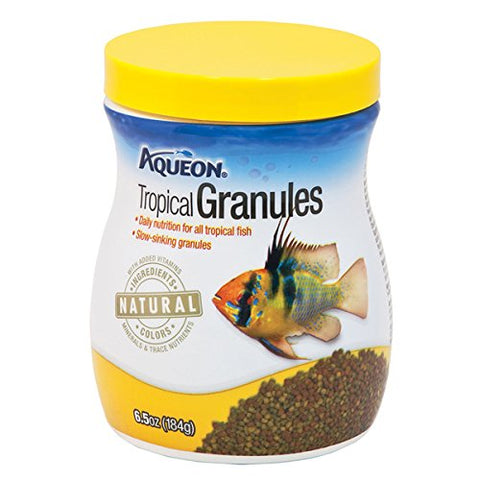 Aqueon Tropical Granules Fish Food (6.25-Oz.)
