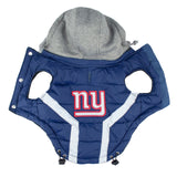 NFL Dog Puffer Vest-Giants (S/M/L/XL/2XL)