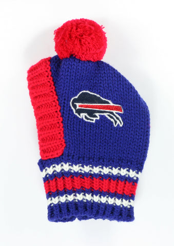 NFL Pet Knit Hat -Bills (S/M)