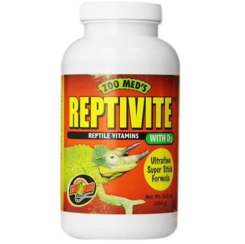 Zoo Med Reptivite, with Vitamin D3 (16-Oz.)