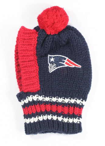 NFL Pet Knit Hat -Patriots (Small)