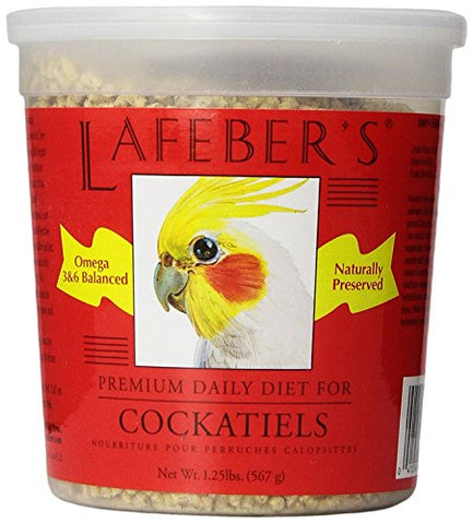 Lafeber's Cockatiels Daily Diet Pellets (1.25-Lbs.)
