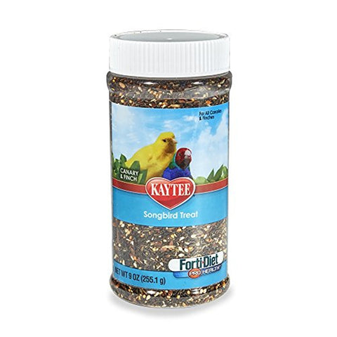Kaytee Forti-Diet Pro Health Canary and Finch Songbird Treat (9-Oz.)