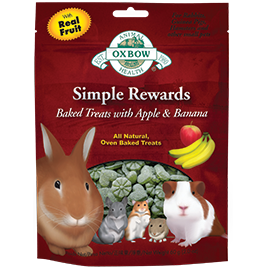Oxbow Simple Rewards Baked Apple and Banan (2-Oz.)