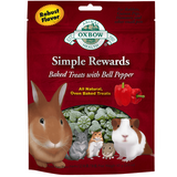Oxbow Simple Rewards Treats with Bell Pepper and Timothy Grass (2-Oz.)