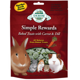 Oxbow Simple Rewards Treats with Carrots, Dill and Timothy Hay (2-Oz.)