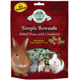 Oxbow Simple Rewards Treats with Cranberry and Timothy Grass (2-Oz.)