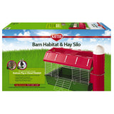 Kaytee Barn Habitat with Hay Silo