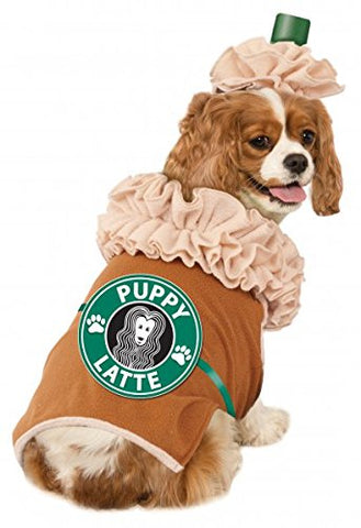 Iced Coffee Dog Costume (L)