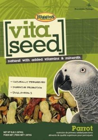 Higgins Vita Seed Natural Parrot, (5-Lbs.)