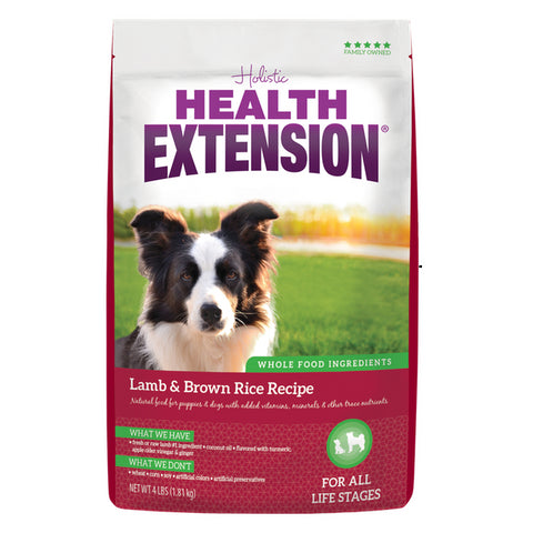 Health Extension Dog Food, Lamb & Brown Rice (4-Lbs.)
