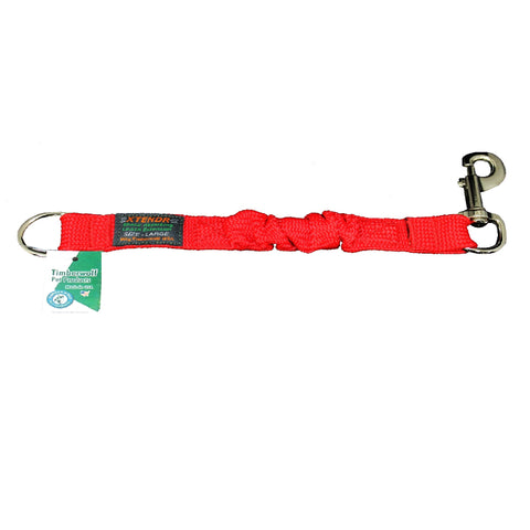 "Large Leash Xtender (Red, 12""/18"")"