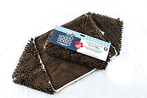 Soggy Doggy Super Absorbent Dog Towel, (Dark Chocolate)