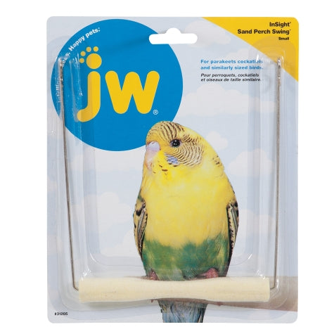 JW Insight Sand Perch Swing Bird Toy