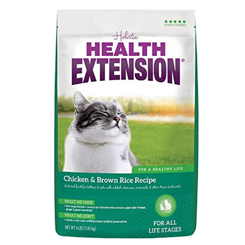 Health Extension Chicken and Brown Rice Cat Food (15-Lb.)
