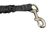 "Large Leash Xtender (Black, 12""/18"")"