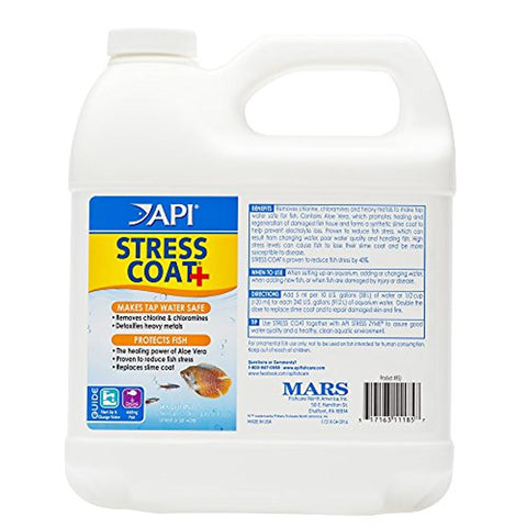 API Stress Coat Freshwater Aquarium Water Conditioner (64-Oz.)