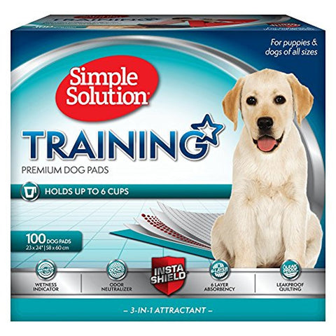 Simple Solution 6-Layer Dog Training Pads (Box of 100)