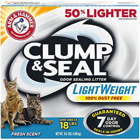 Arm & Hammer Clump & Seal Lightweight Litter (9-Lbs.)
