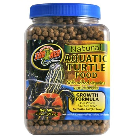 Zoo Med Natural Aquatic Turtle Food, Growth Formula, (17, 30-Oz.)
