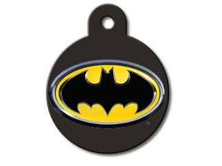 Customizable Batman Circle Dog Tag (Large)