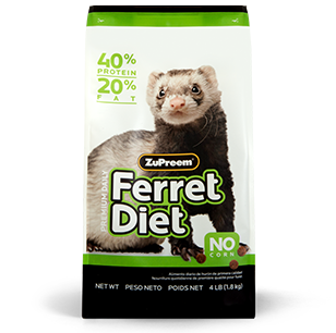 ZuPreem Premium Ferret Diet Food (4, 8-Lb.)