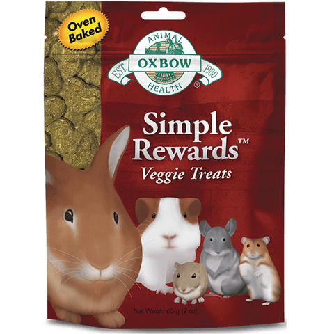 Oxbow Simple Rewards Veggie Treat for Pets (2-Oz.)
