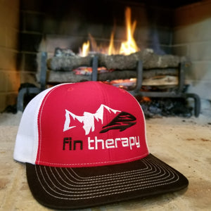 R112 Red/White/Black Hat