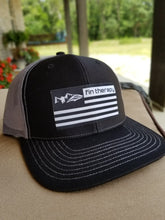 R112 Black/Grey Hat | fin therapy flag