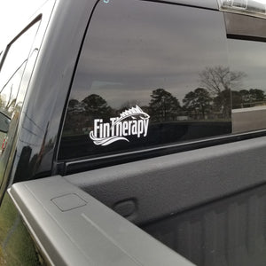 Vinyl Decal | Fin Therapy logo
