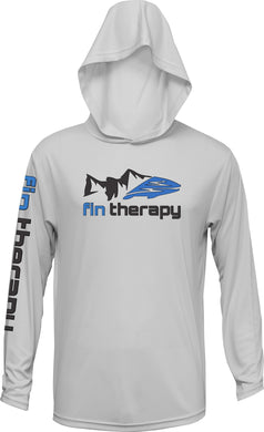 Black and Blue Fin Therapy logo
