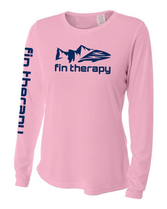 Women's pink fishing shirt