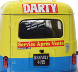 "Renault R4 F4 "" Darty "" 1988 1/18 SOLIDO -11"