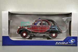 Citroën 2CV Charleston 1982 1/18 SOLIDO