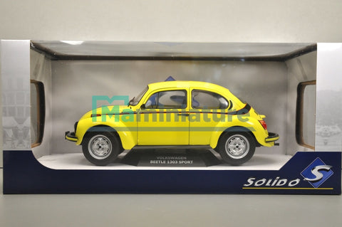 VW Beetle 1303 Sport 1/18 SOLIDO