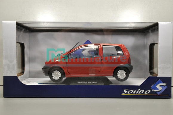 Renault Twingo Rouge 1993 1/18 SOLIDO