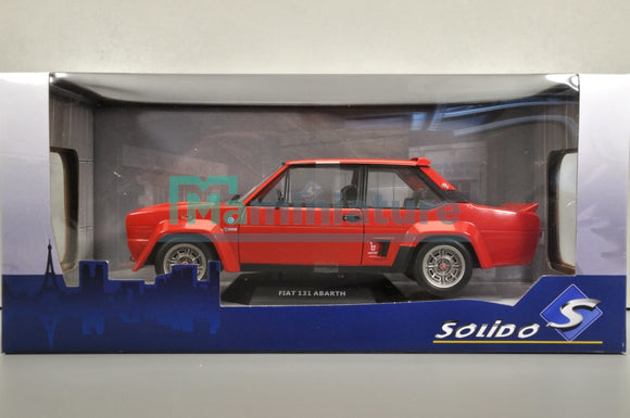 Fiat 131 Abarth Rouge 1/18 SOLIDO S1806002