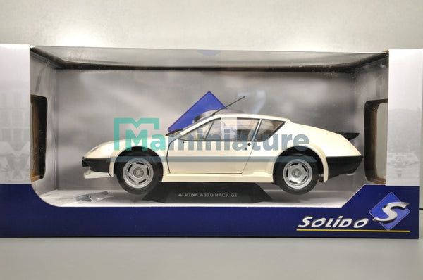Alpine A310 Pack GT blanche 1/18 SOLIDO