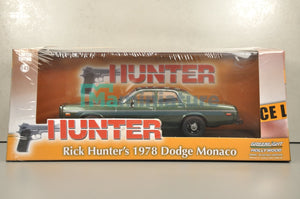 "Dodge Monaco "" Rick Hunter "" 1978 1/43 GREENLIGHT"