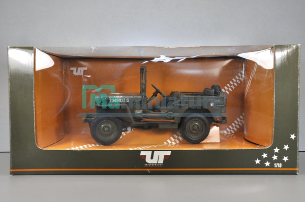 Jeep Willys Military 1/18 Ut Models