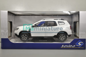 Dacia Duster White 1/18 SOLIDO