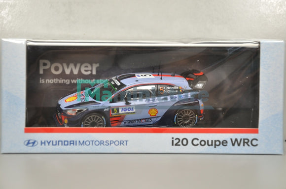 Hyundai I20 Coupe WRC Team Hyundai #5 Winner 1/43 IXO