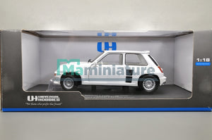 "Renault 5 Turbo "" All White "" 1/18 UNIVERSAL HOBBIES"