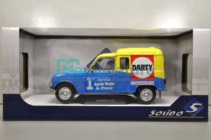 "Renault R4 F4 "" Darty "" 1988 1/18 SOLIDO"