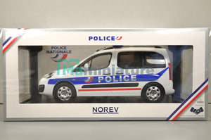 "Peugeot Partner "" Police Nationale "" 2017 1/18 NOREV"