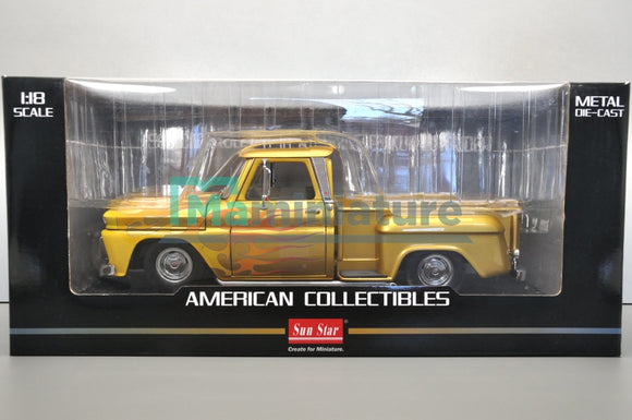 Chevrolet C-10 Stepside Pick up Lowrider 1/18 SUNSTAR