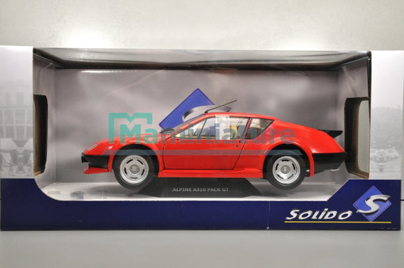 Alpine A310 Pack GT rouge 1/18 SOLIDO