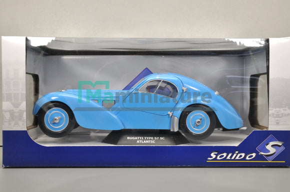 Bugatti Atlantic Type 57SC 1937 1/18 SOLIDO