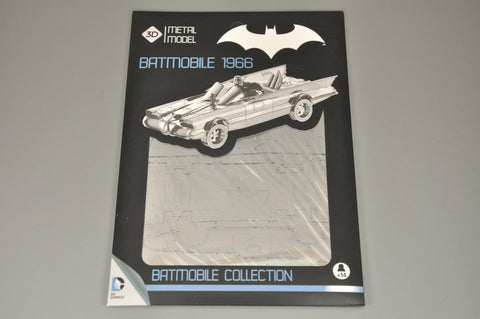 Model Kit Métal 3D Batmobile 1966